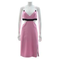 David Koma Dress With Color Block Palette Angle1