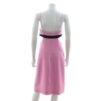 David Koma Dress With Color Block Palette Angle3