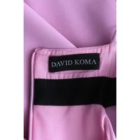 David Koma Dress With Color Block Palette Angle4