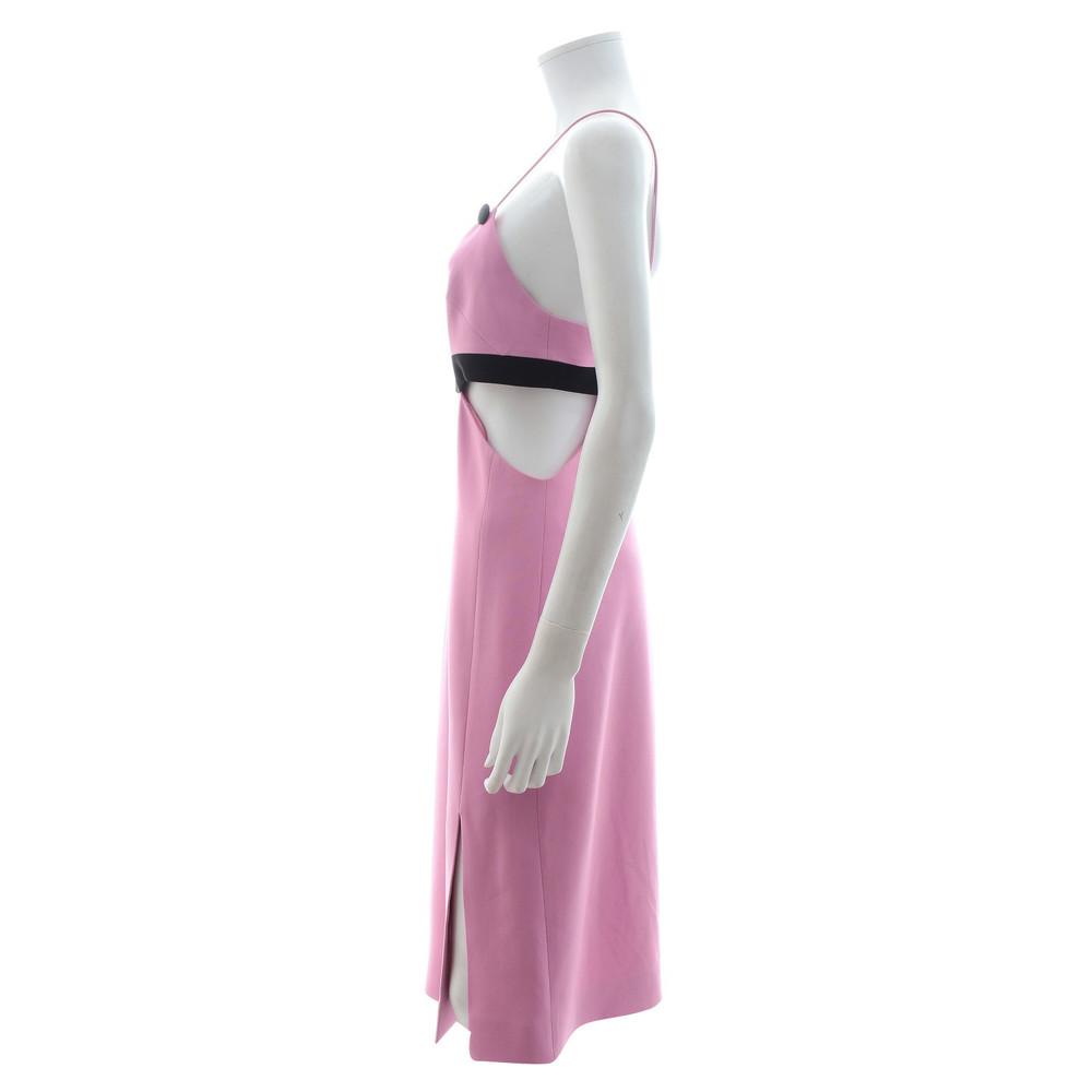 David Koma Dress With Color Block Palette