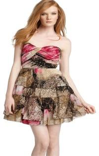 Diane von Furstenberg Dress With Peplum Layers