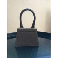 Jacquemus Leather Hand Bag Angle2