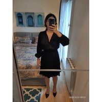 Claudie Pierlot Dress With Long Sleeves Angle3