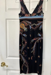 Roberto Cavalli Deep V-Neck Dress Angle4