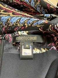 Roberto Cavalli Deep V-Neck Dress Angle6