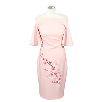 Ted Baker Shift Dress In Pink