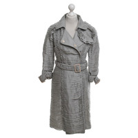 Burberry Prorsum Decorative Coat With Ruffles