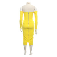 Alex Perry Off shoulder Dress In Yellow Angle4