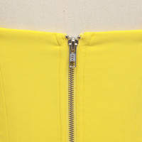 Alex Perry Off shoulder Dress In Yellow Angle5