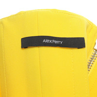 Alex Perry Off shoulder Dress In Yellow Angle6