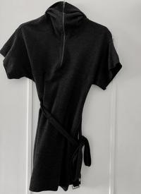 Stella McCartney Wool Belted Sweater Dress Angle1