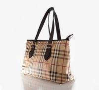 Burberry classic print shoulder bag