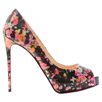 Christian Louboutin Pumps In Multicolored Print