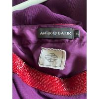 Antik Batik Dress Decorative With Beads Angle4
