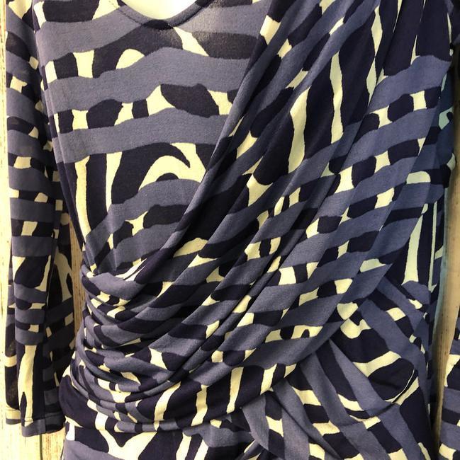Max Mara Printed Stretch Top Blouse