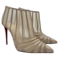 Christian Louboutin Ankle boots In Beige Color