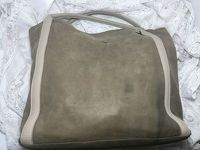 See By Chloe Taupe Leather Handbag Angle4