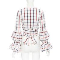 Rosie Assoulin Puff Sleeve Wrap Top Angle5
