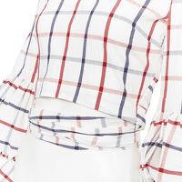 Rosie Assoulin Puff Sleeve Wrap Top Angle10