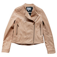 Mulberry Jacket With Gold Zip