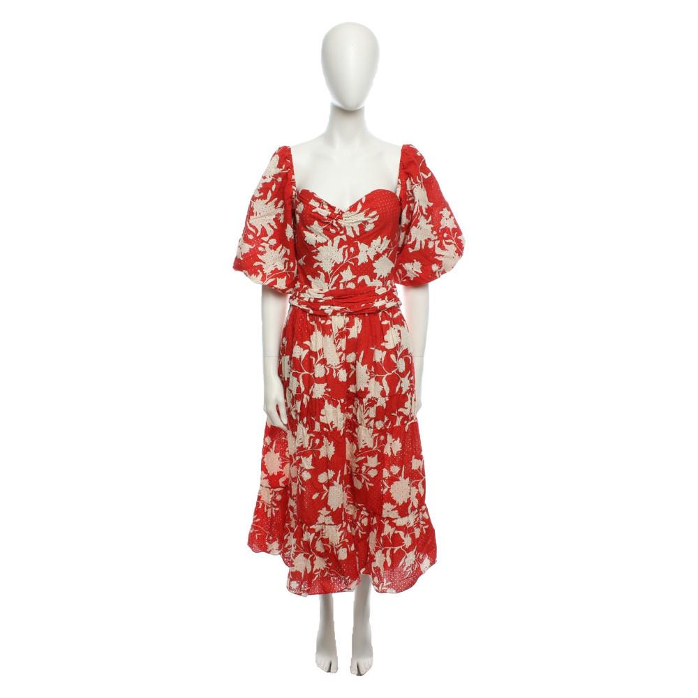 Johanna Ortiz Dress With Heart Shaped Neckline