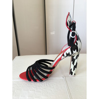 Sophia Webster Multicolor Sandals Angle2