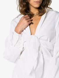 Johanna Ortiz White Shirt Dress Angle4