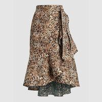 Johanna Ortiz Skirt With Leopard Print