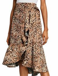 Johanna Ortiz Skirt With Leopard Print Angle2