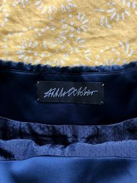 Anna October Silk Skirt With Faux Fur Angle4