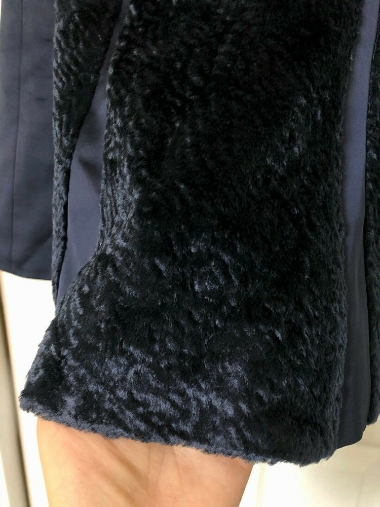 Anna October Silk Skirt With Faux Fur