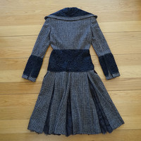 Dolce & Gabbana Wool Coat With Panels Angle2