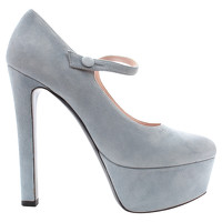 Miu Miu Pumps In Light Blue Color