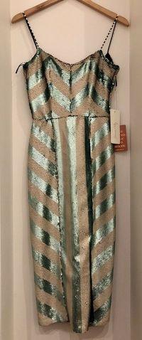 Johanna Ortiz Sequin Midi Dress Angle3