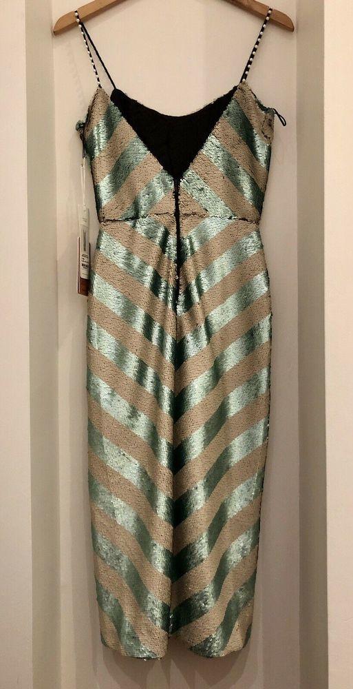Johanna Ortiz Sequin Midi Dress
