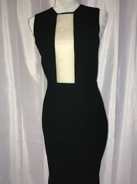 Alex Perry Black Gown Dress Angle3
