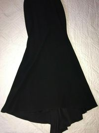 Alex Perry Black Gown Dress Angle5