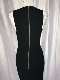 Alex Perry Black Gown Dress Angle7