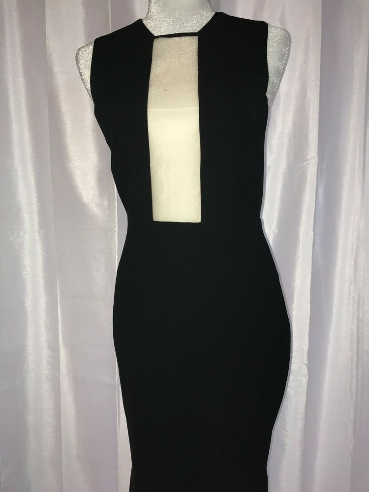Alex Perry Black Gown Dress