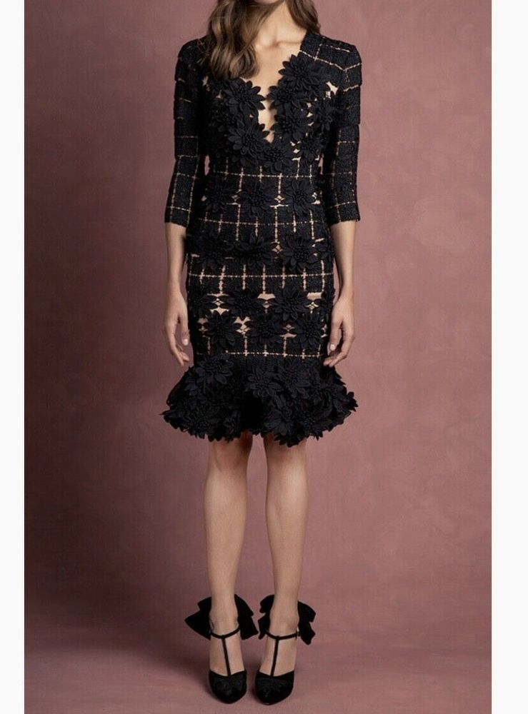 Johanna Ortiz Manila Floral Lace Dress