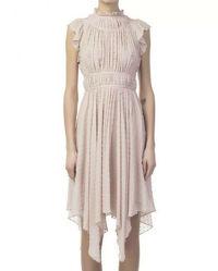 Ulla Johnson Silk Asymmetric Dress Angle6