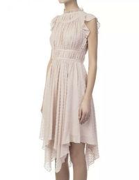Ulla Johnson Silk Asymmetric Dress Angle7