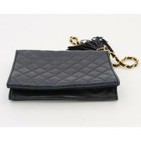 Chanel Handbag With Golden Metal Pompom Angle5