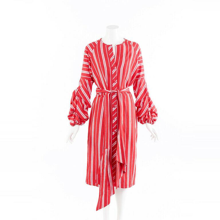 Johanna Ortiz Belted Midi Dress