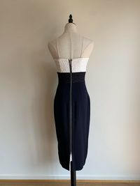 ALEX PERRY Austin Fitted Dress Angle7