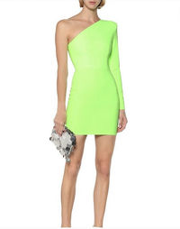 Alex Perry Dress In Lime Color