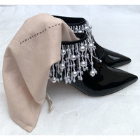 Christopher Kane Ankle boots Decorated With Pearls Angle5