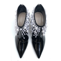 Christopher Kane Ankle boots Decorated With Pearls Angle4