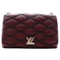 Louis Vuitton Twist Leather Hand Bag Angle1