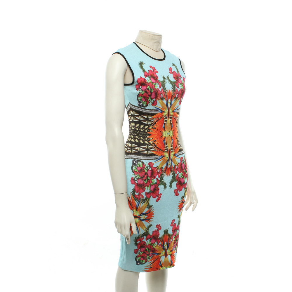 Givenchy Printed Dress In Multi Color